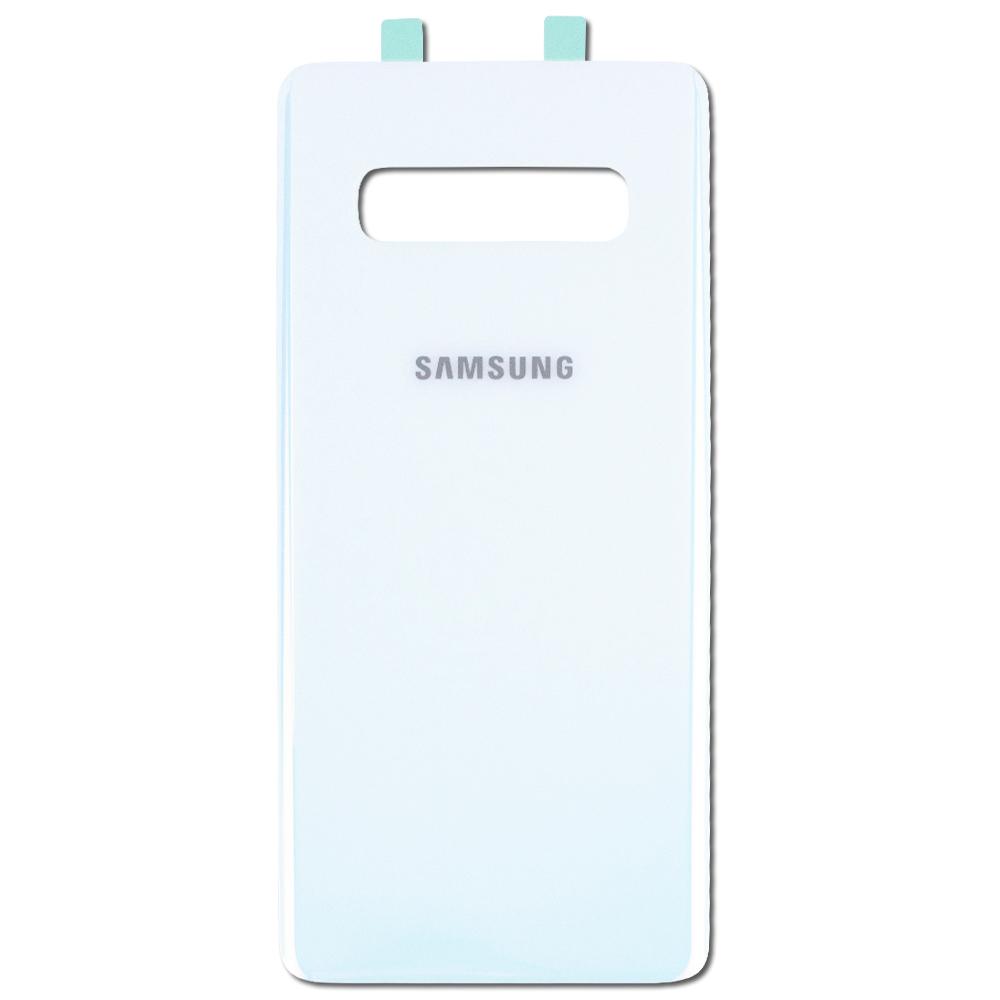 Samsung Galaxy S10 Plus - Zadný kryt - Prism White - biely