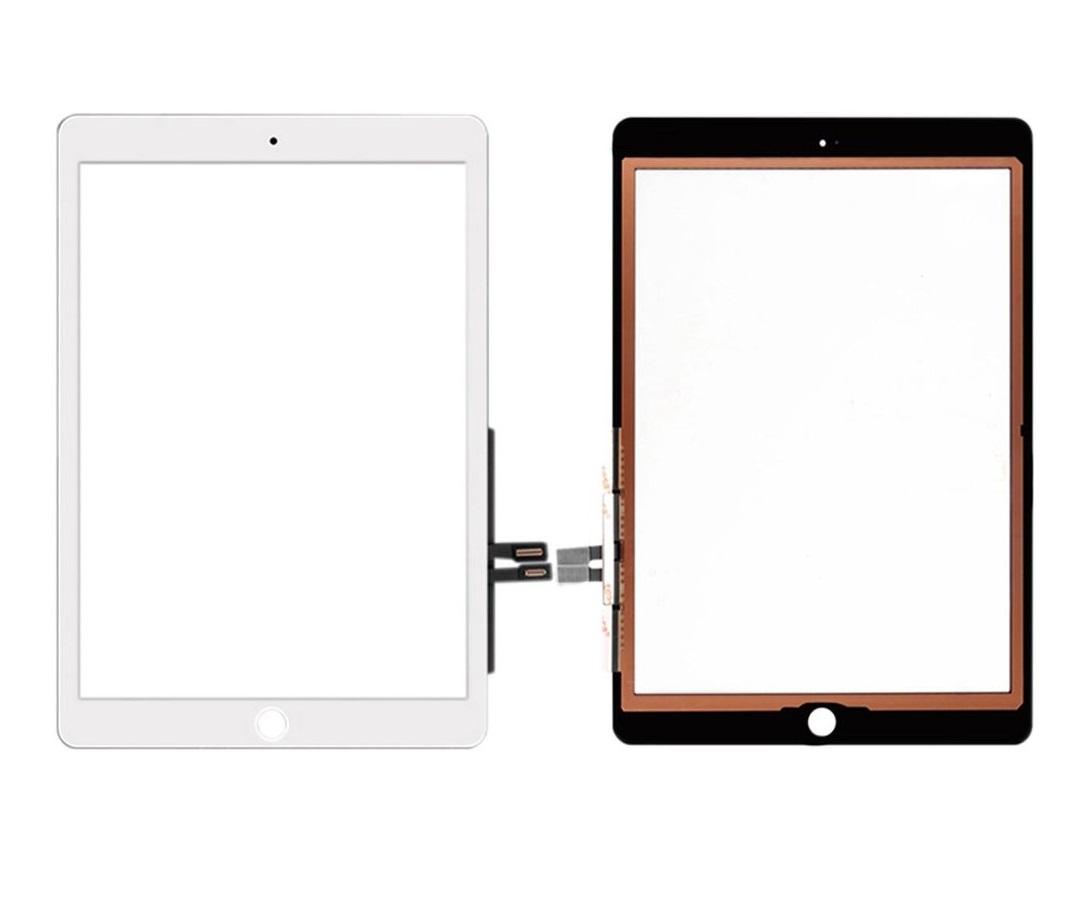 Apple iPad 10.2 2019 - dotyková plocha, sklo (digitizér) - biele