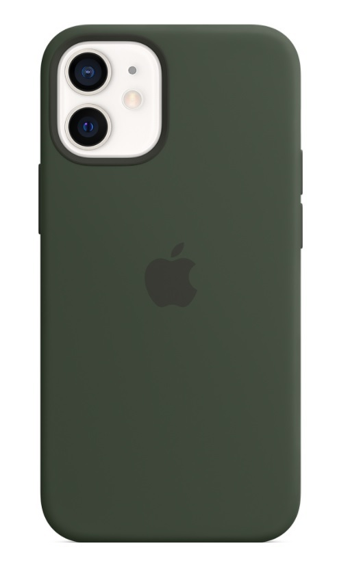 Apple iPhone 12 Silicone Case - Cyprus Green
