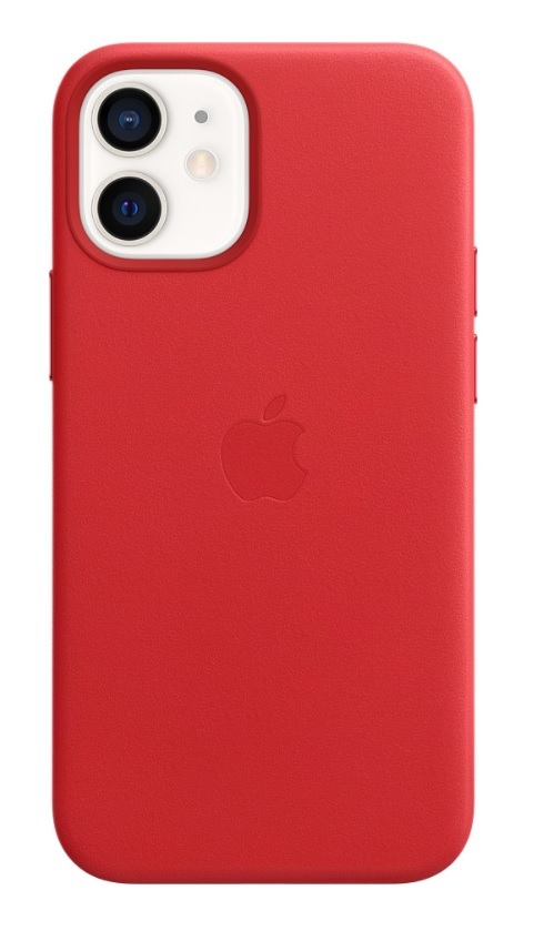 Apple iPhone 12 Silicone Case - Red