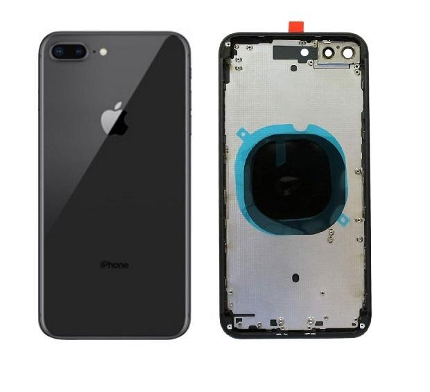 Apple iPhone 8 Plus - Zadný kryt - housing iPhone 8 Plus - čierny