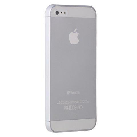 Matný ultratenký kryt iPhone 5/5S/SE biely