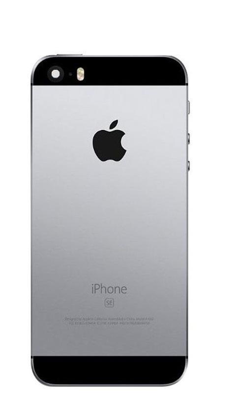 Apple iPhone SE - Zadný kryt - space grey / šedá