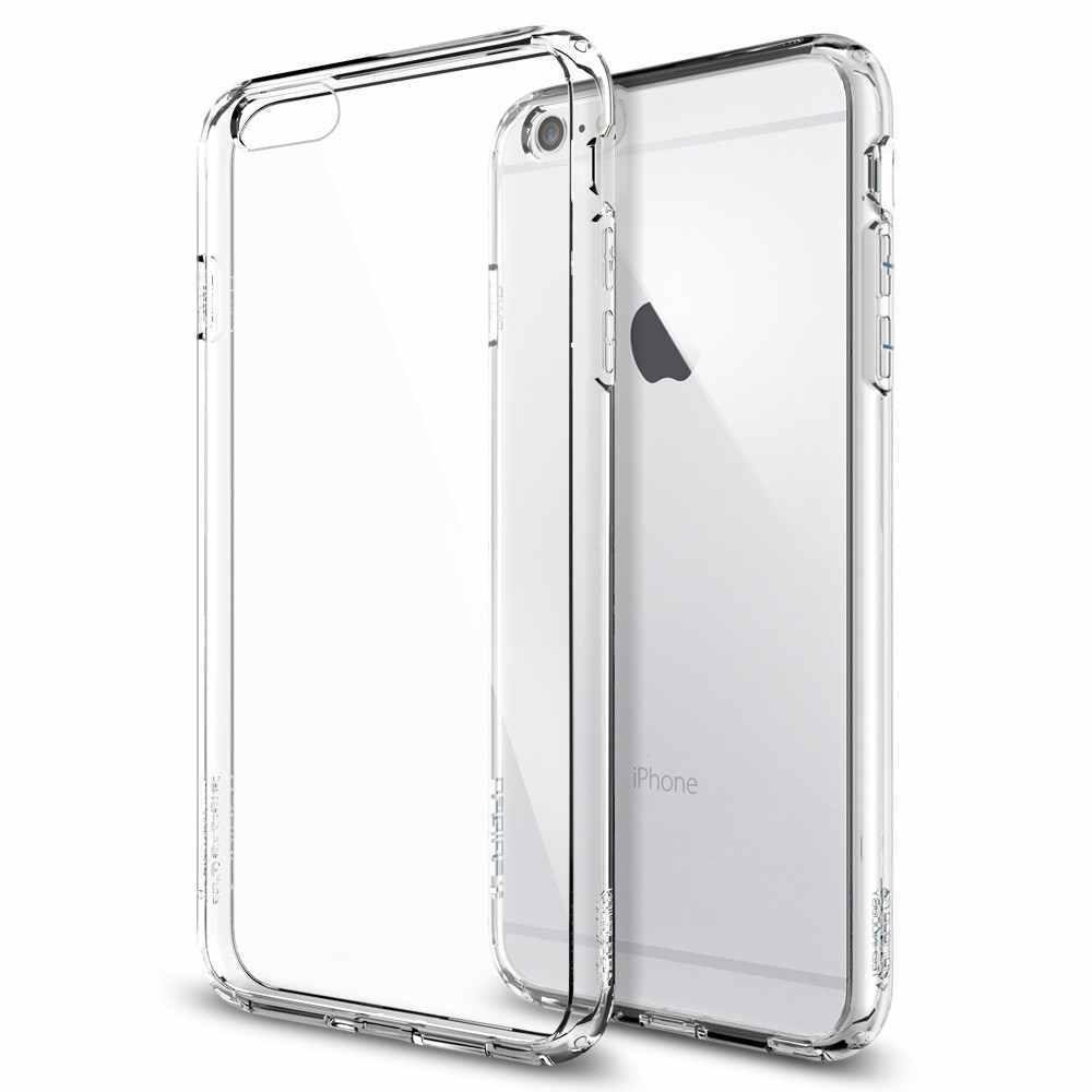 Priesvitný kryt - Crystal Air iPhone 6/6S
