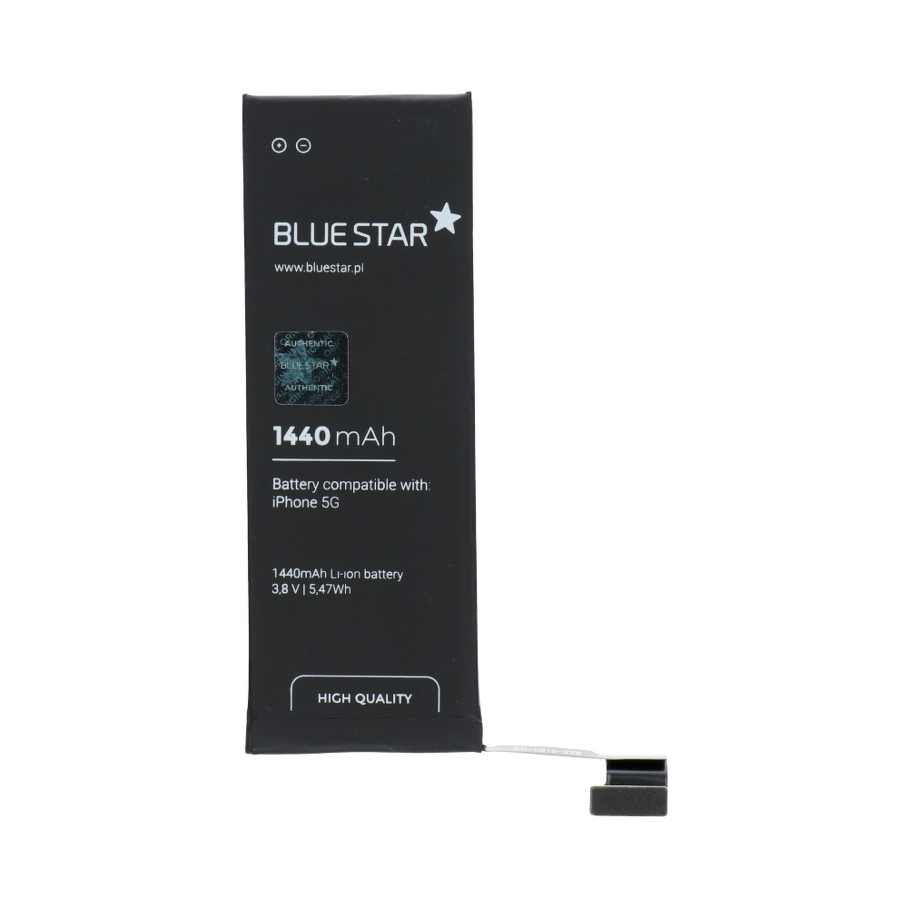 Batéria Apple iPhone 5 1440 mAh Polymer Blue Star PREMIUM