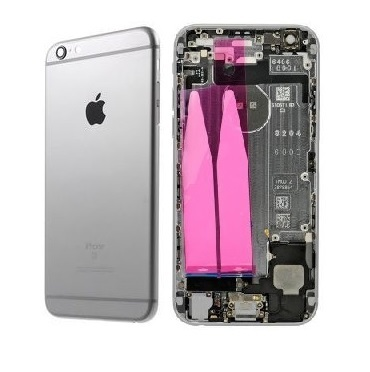 Apple Zadný kryt iPhone 6S Plus šedý/space grey s malými dielmi