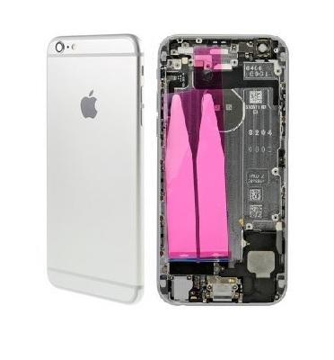 Apple Zadný kryt iPhone 6S Plus strieborný/silver s malými dielmi