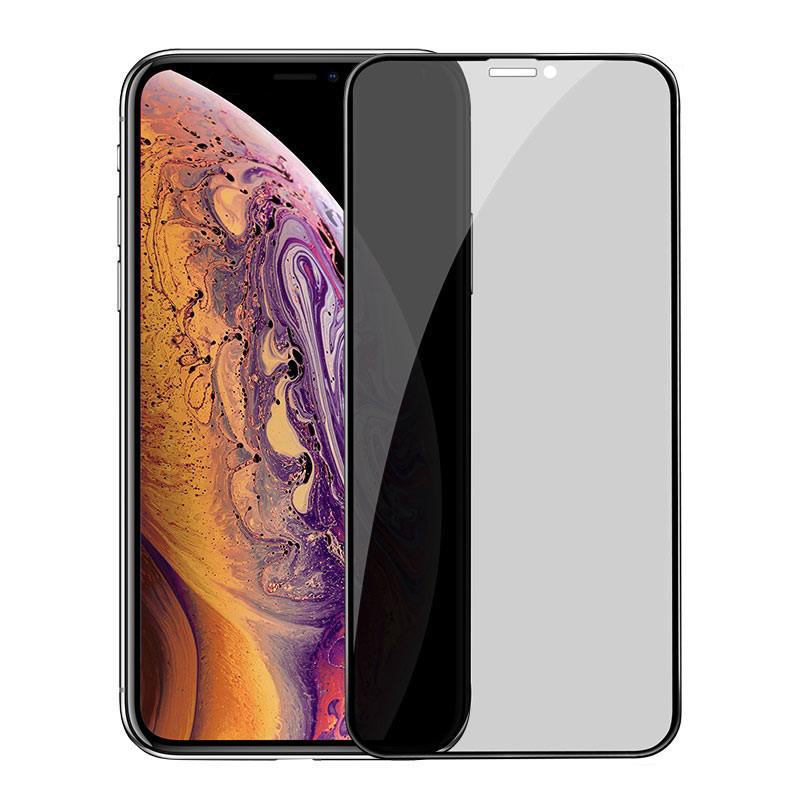 Anti-Spy - Ochranné temperované sklo pre Apple iPhone 11 Pro Max/XS Max