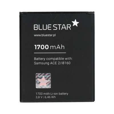 Blue Star Batéria Samsung Galaxy Ace 2 (I8160)/S7562 Duos/S7560 Galaxy Trend/S7580 Trend Plus 1700 mAh Li-Ion BS PREMIUM