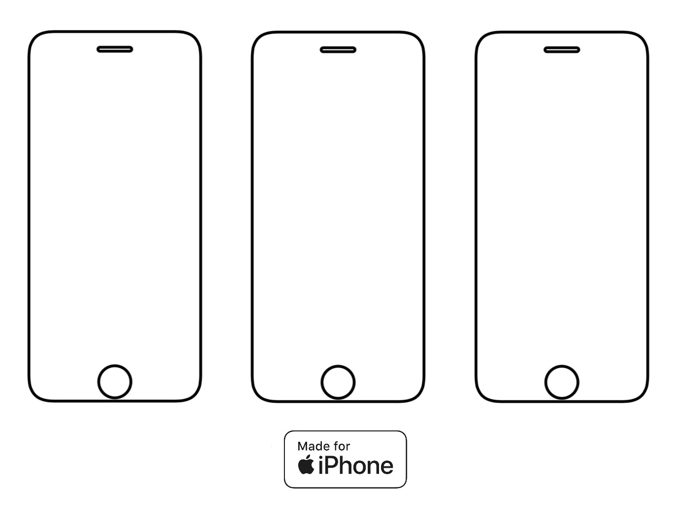 3PACK - Hydrogel - 3x ochranná fólia - iPhone 6 Plus/6S Plus