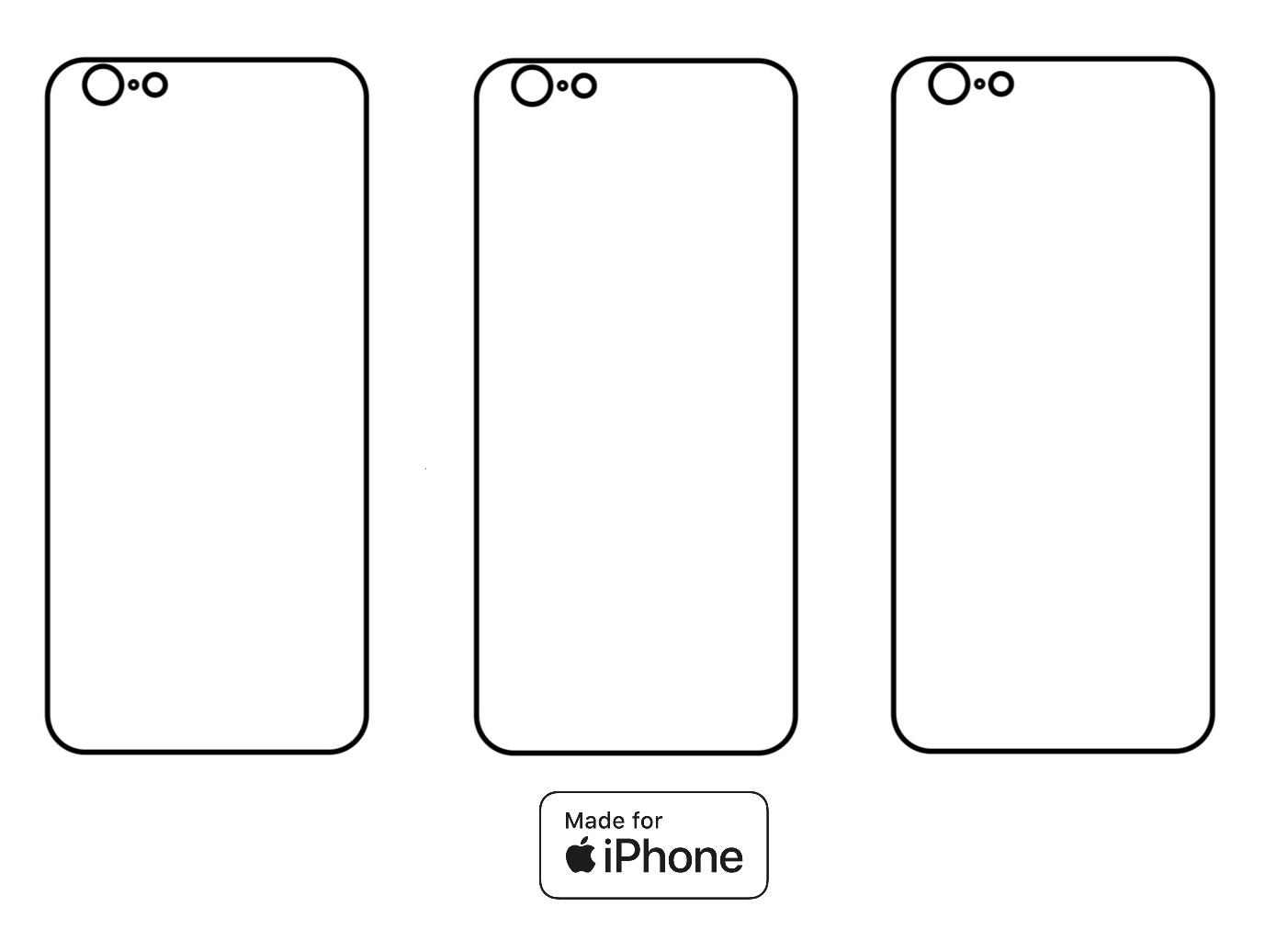 3PACK - Hydrogel - 3x zadná ochranná fólia - iPhone 6/6S