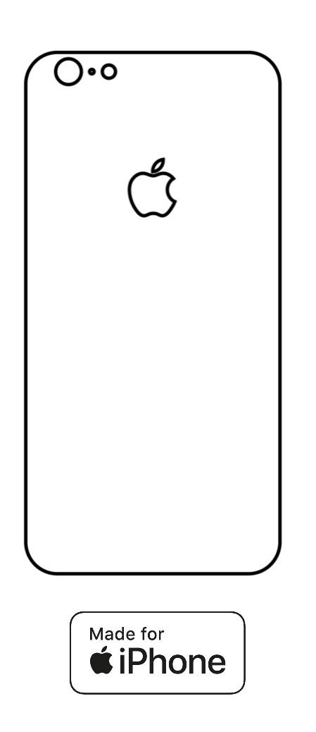 Hydrogel - zadná ochranná fólia - iPhone 6/6S - typ 2