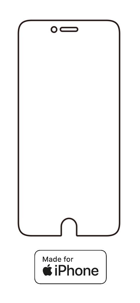Hydrogel - ochranná fólia - iPhone 6/6S - typ 4