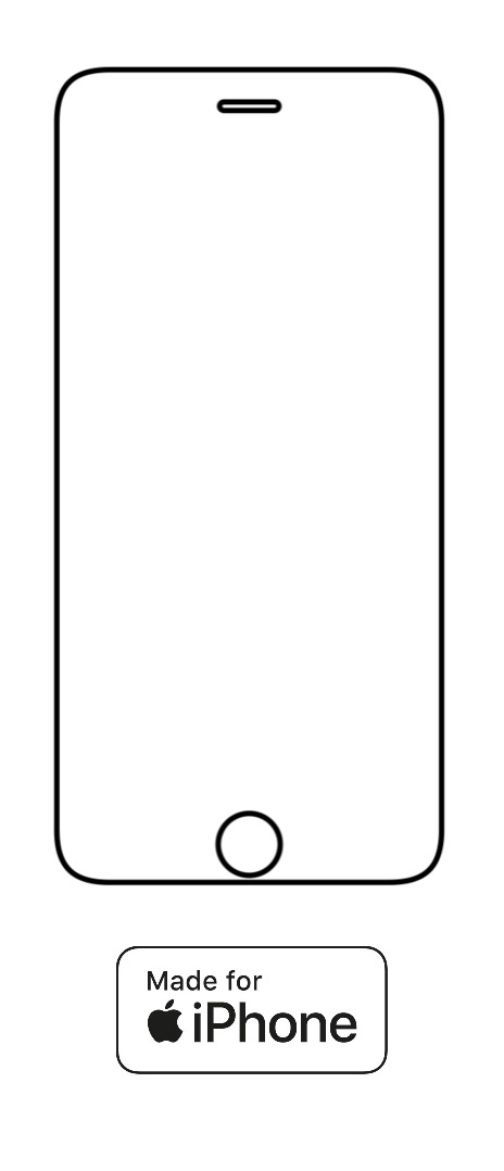 Hydrogel - ochranná fólia - iPhone 6/6S - typ 1