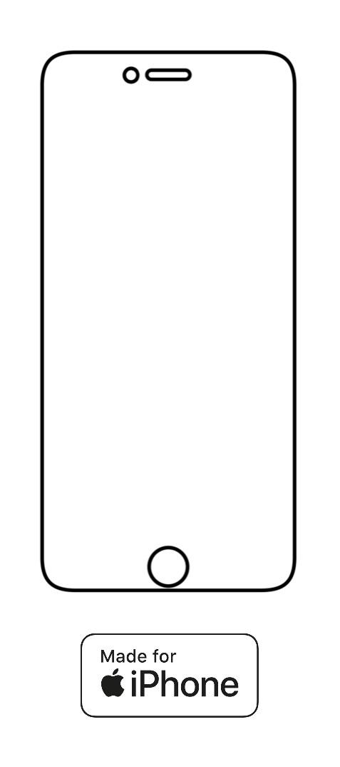 Hydrogel - ochranná fólia - iPhone 6/6S - typ 3
