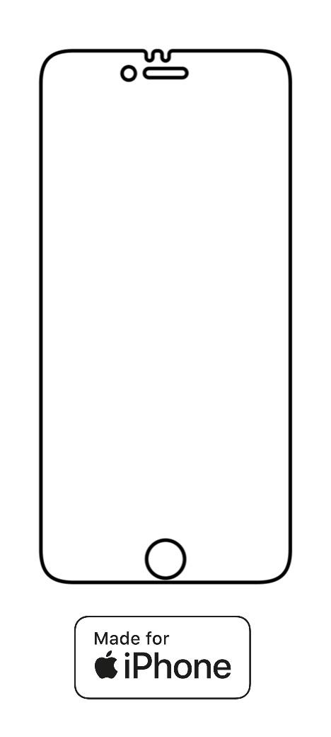 Hydrogel - matná ochranná fólia - iPhone 6/6S