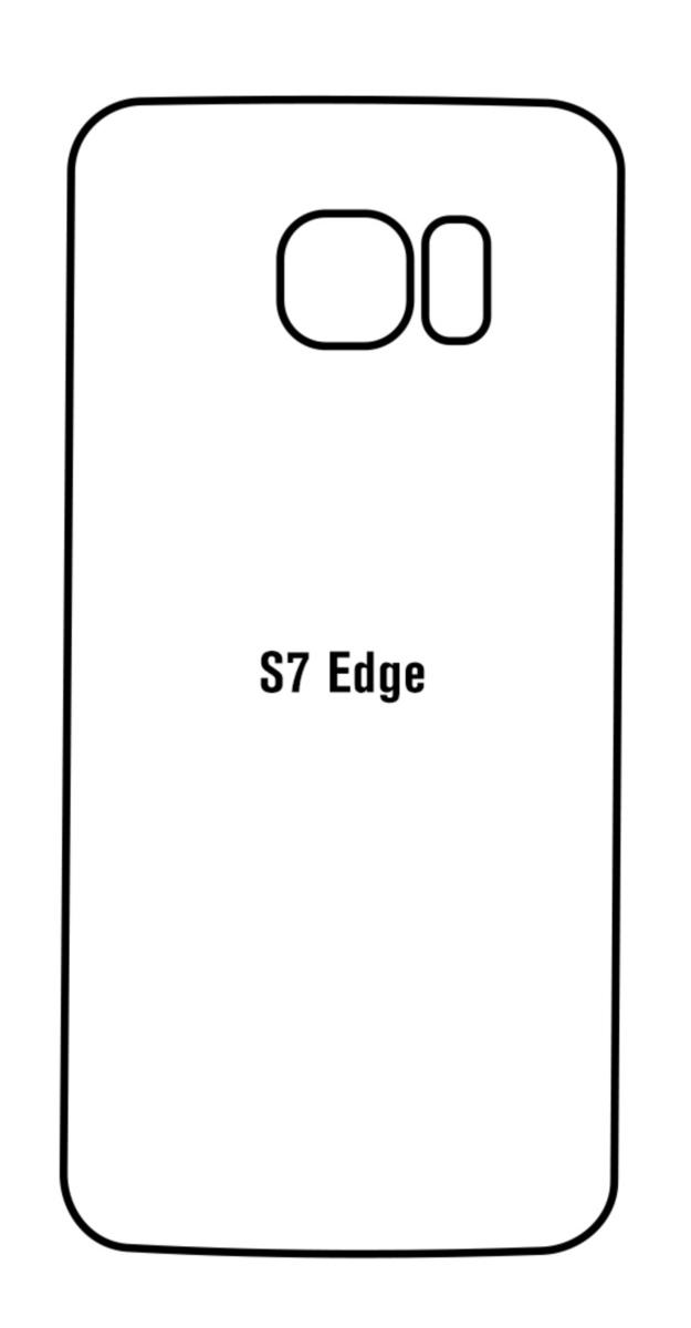 Hydrogel - zadná ochranná fólia - Samsung Galaxy S7 Edge