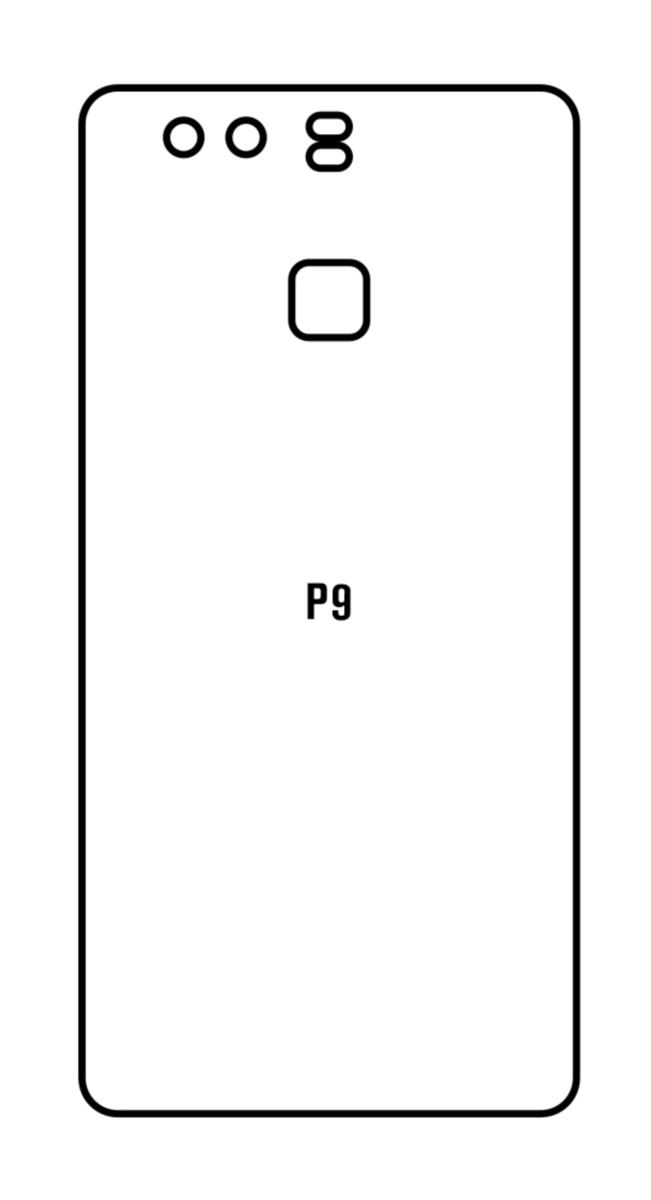 Hydrogel - zadná ochranná fólia - Huawei P9
