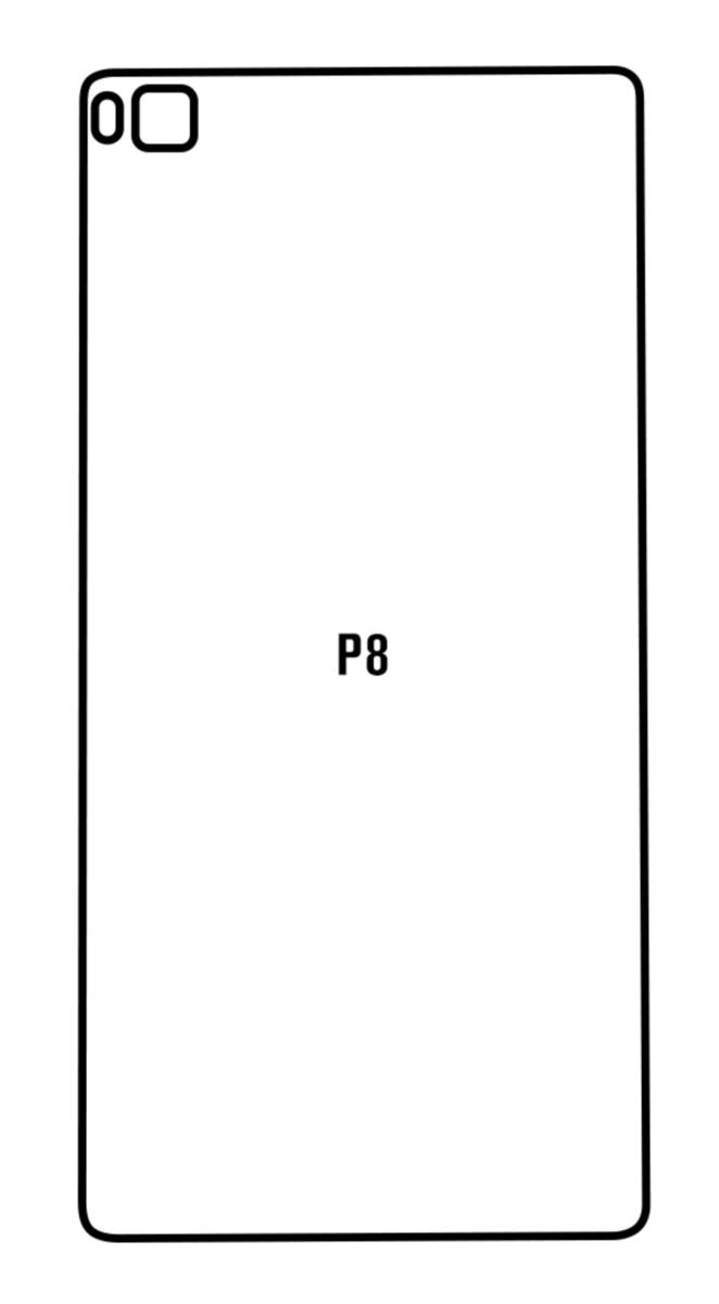 Hydrogel - zadná ochranná fólia - Huawei P8