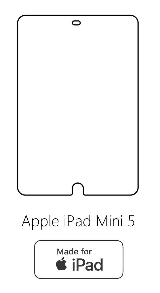 Hydrogel - ochranná fólia - Apple iPad Mini 5