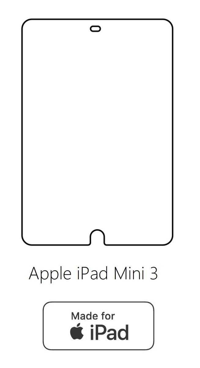 Hydrogel - ochranná fólia - Apple iPad Mini 3