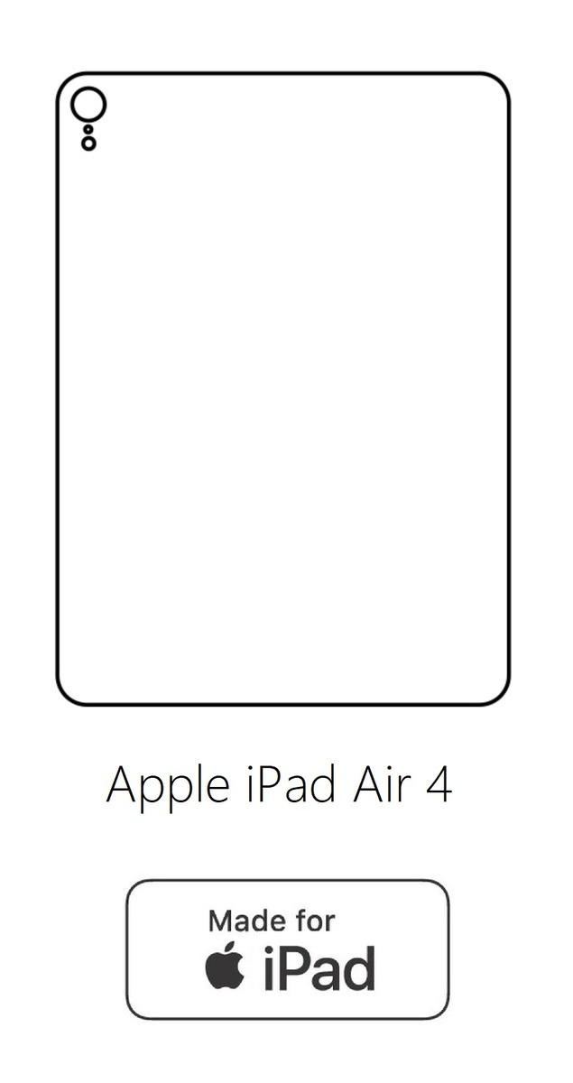 Hydrogel - zadná ochranná fólia - Apple iPad Air 4
