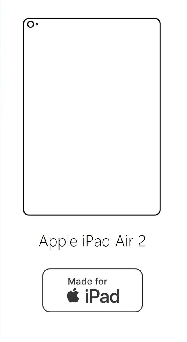 Hydrogel - zadná ochranná fólia - Apple iPad Air 2
