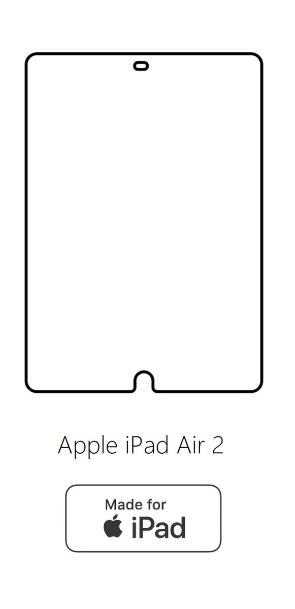Hydrogel - ochranná fólia - Apple iPad Air 2