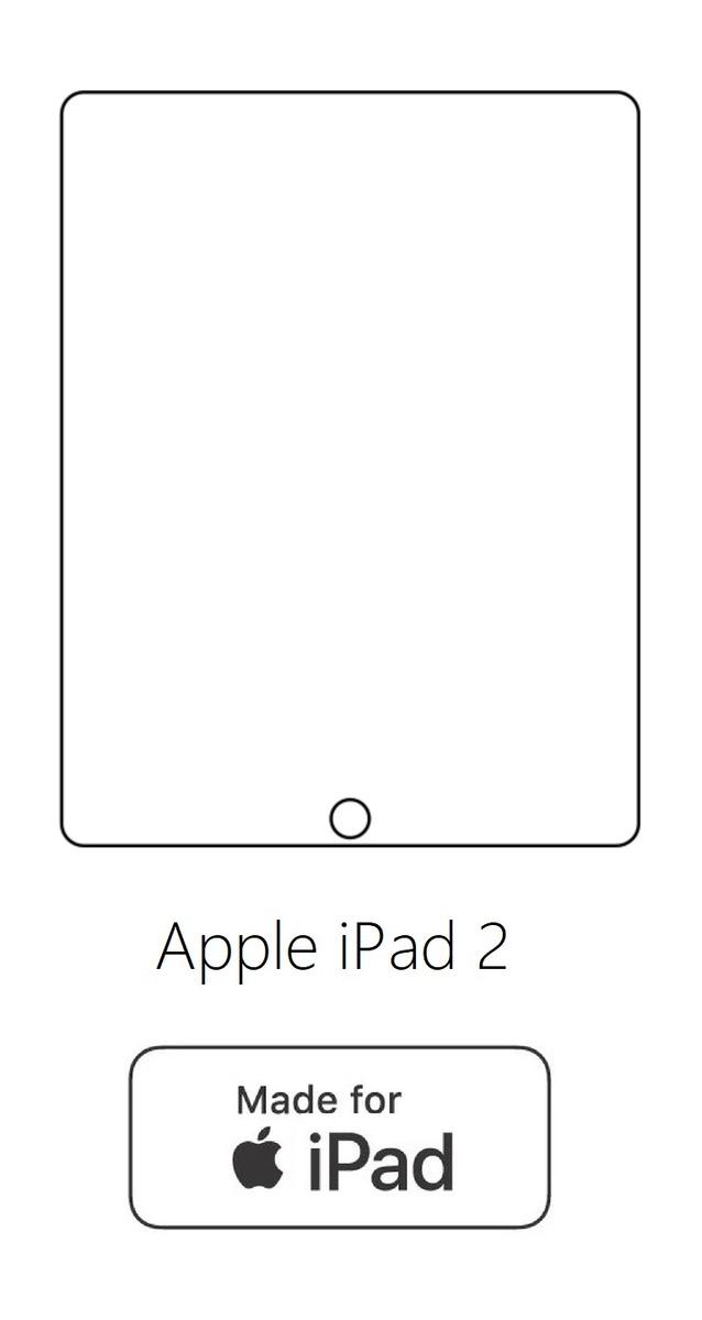 Hydrogel - ochranná fólia - Apple iPad 2