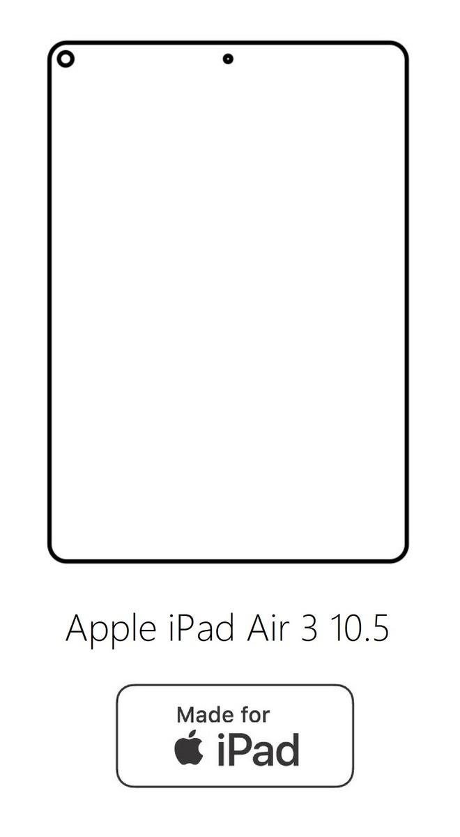 Hydrogel - zadná ochranná fólia - Apple iPad Air 3 10.5 typ1