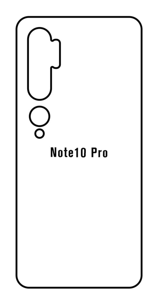 Hydrogel - zadná ochranná fólia - Xiaomi Mi Note 10 Pro