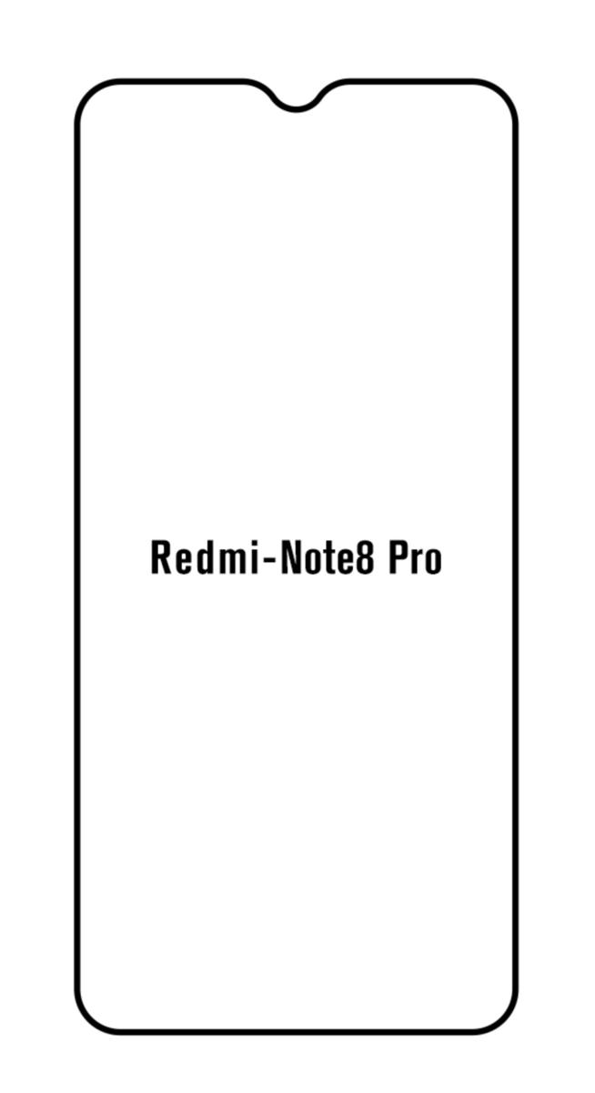 Hydrogel - ochranná fólia - Xiaomi Redmi Note 8 Pro