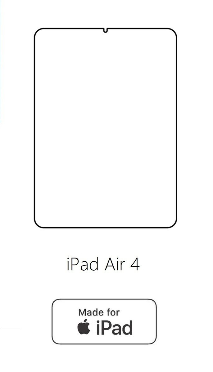 Hydrogel - ochranná fólia - Apple iPad Air 4