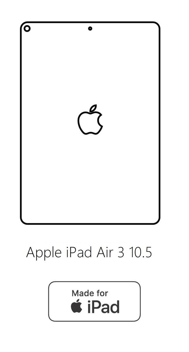 Hydrogel - zadná ochranná fólia - Apple iPad Air 3 10.5 typ2