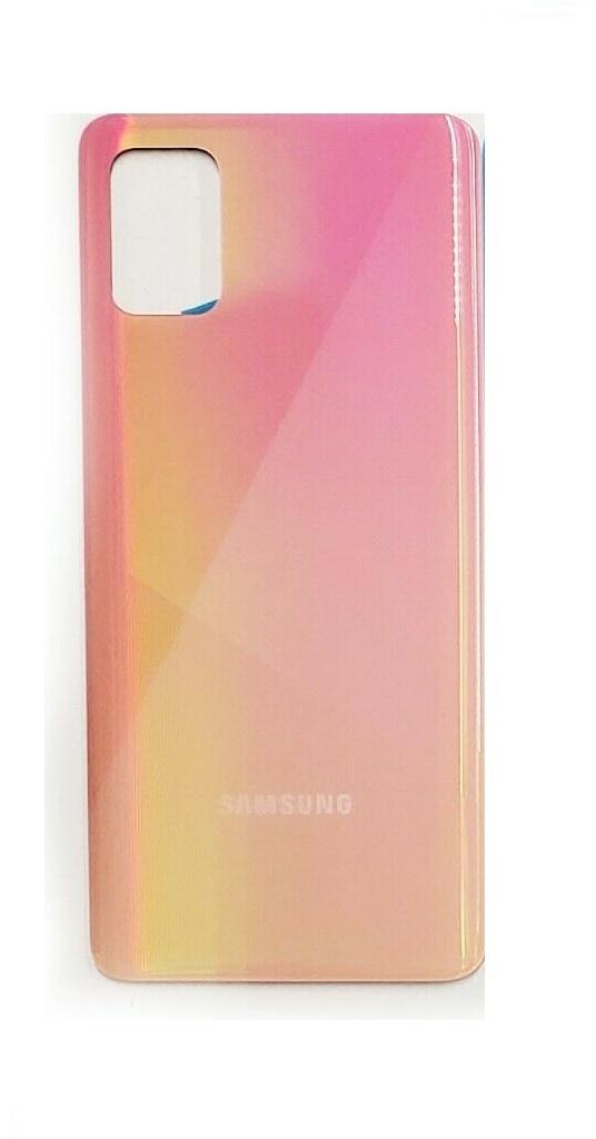 Samsung Galaxy A71 - Zadný kryt - oranžový