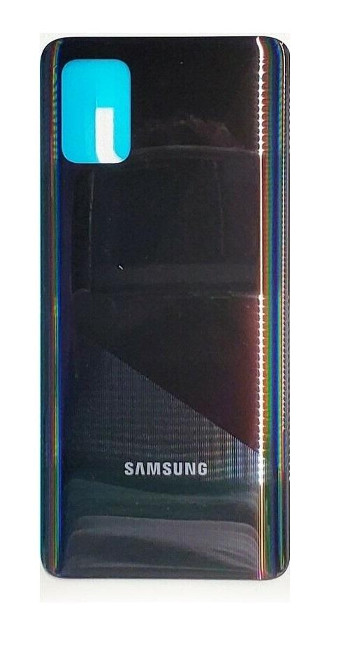 Samsung Galaxy A71 - Zadný kryt - čierny