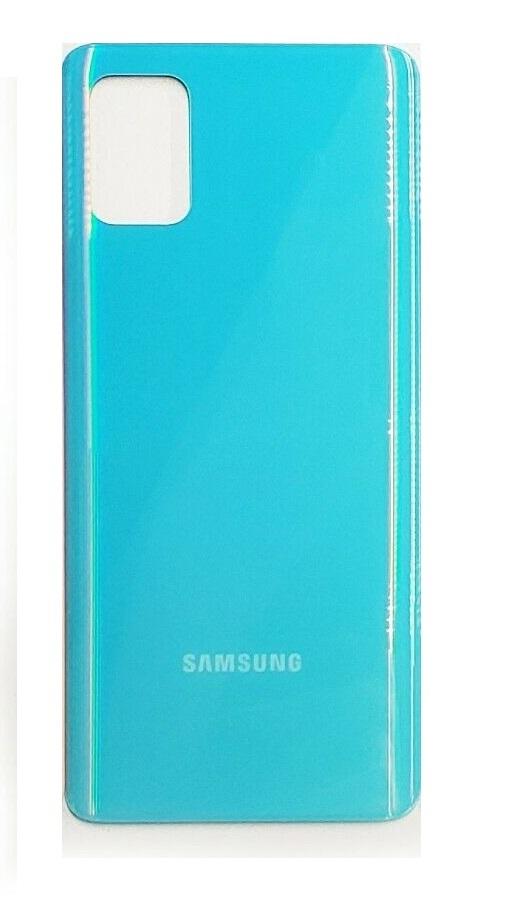Samsung Galaxy A71 - Zadný kryt - modrý