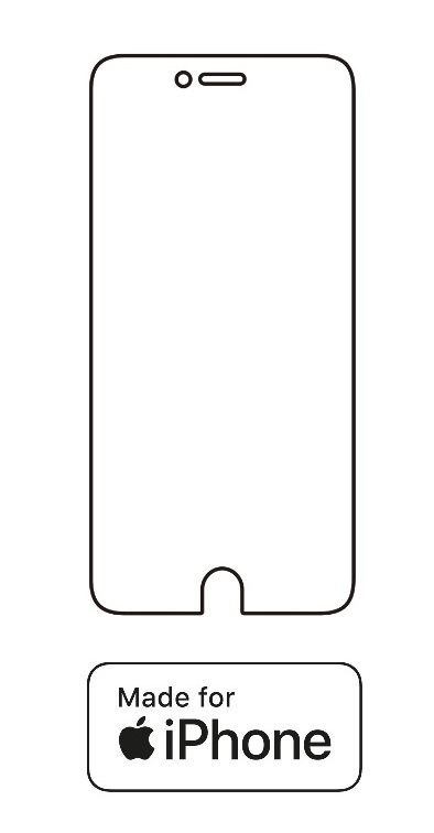 Hydrogel - ochranná fólia - iPhone 6 Plus/6S Plus - typ 4