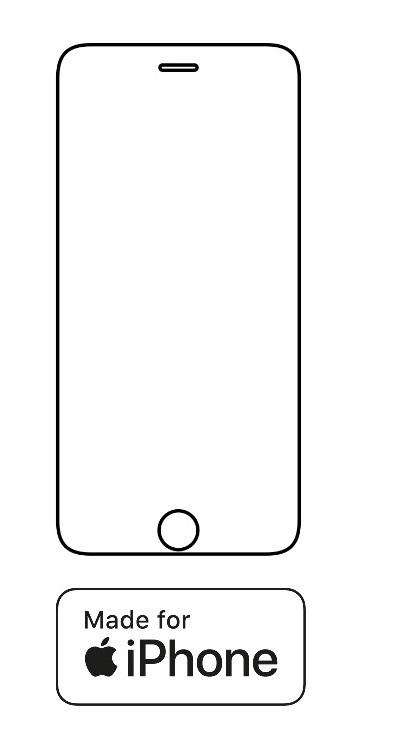 Hydrogel - ochranná fólia - iPhone 6 Plus/6S Plus - typ 1