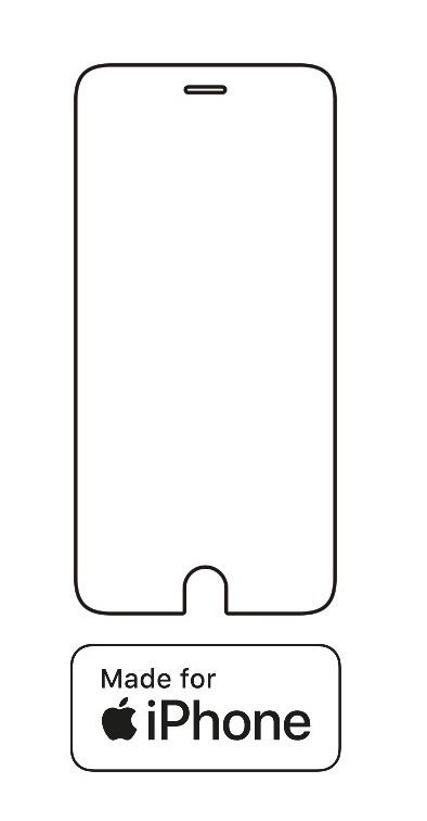 Hydrogel - ochranná fólia - iPhone 6 Plus/6S Plus - typ 2