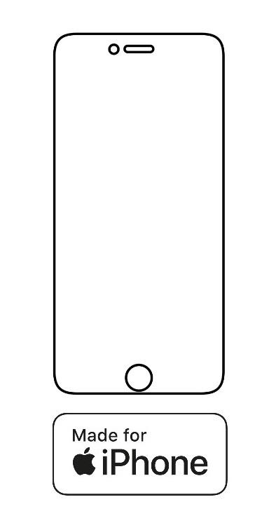 Hydrogel - ochranná fólia - iPhone 6 Plus/6S Plus - typ 3