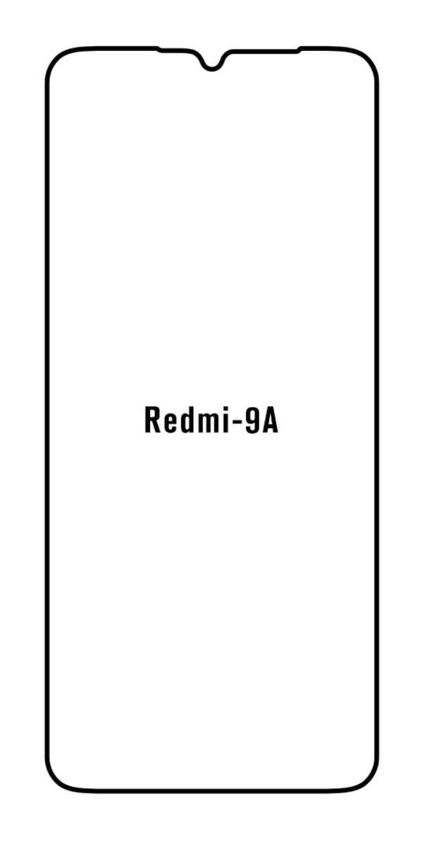 Hydrogel - matná ochranná fólia - Xiaomi Redmi 9A