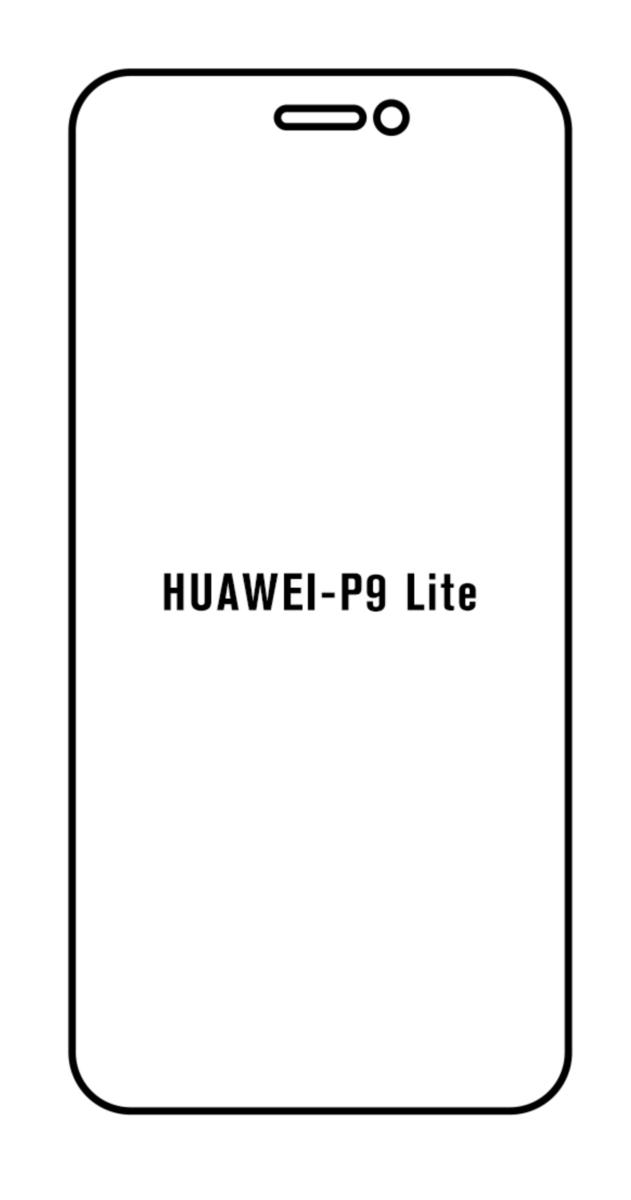 Hydrogel - matná ochranná fólia - Huawei P9 Lite 2017