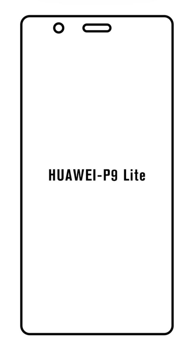 Hydrogel - matná ochranná fólia - Huawei P9 Lite