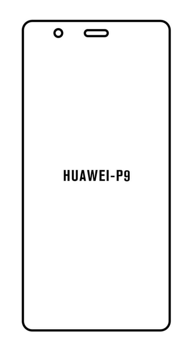 Hydrogel - matná ochranná fólia - Huawei P9