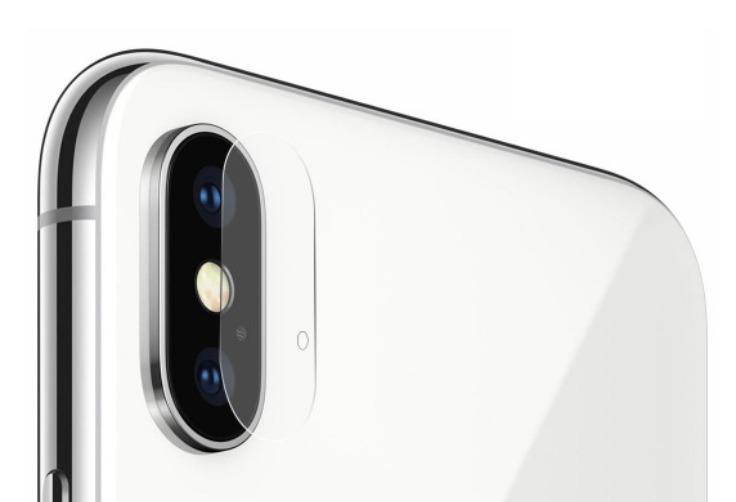 Ochranné sklo zadnej kamery pre Apple iPhone X