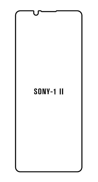 Hydrogel - ochranná fólia - Sony Xperia 1 II