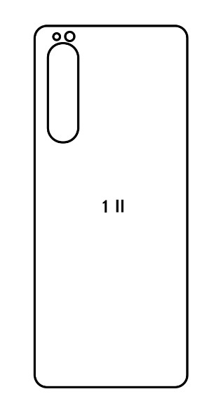 Hydrogel - zadná ochranná fólia - Sony Xperia 1 II