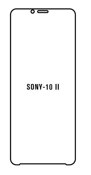 Hydrogel - ochranná fólia - Sony Xperia 10 II