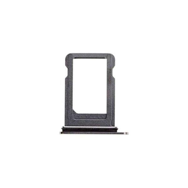 Apple iPhone 7 - Držiak SIM karty - SIM tray - Matte Black (čierny)